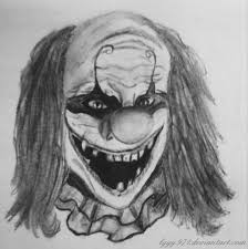 Evil Clown Pumpkin Stencils by Halloween Scary Halloween Drawings Photo Inspirations Cool Evil