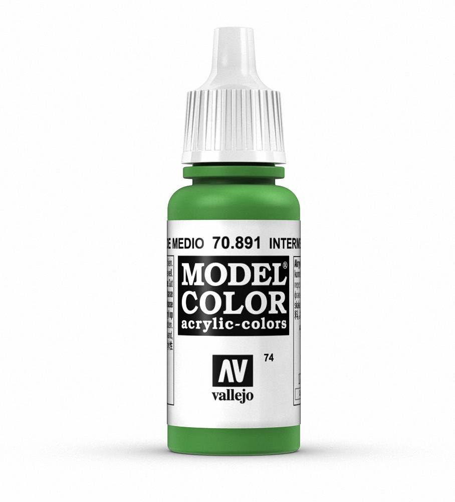 Vallejo Model Colors - 074 Intermediate Green