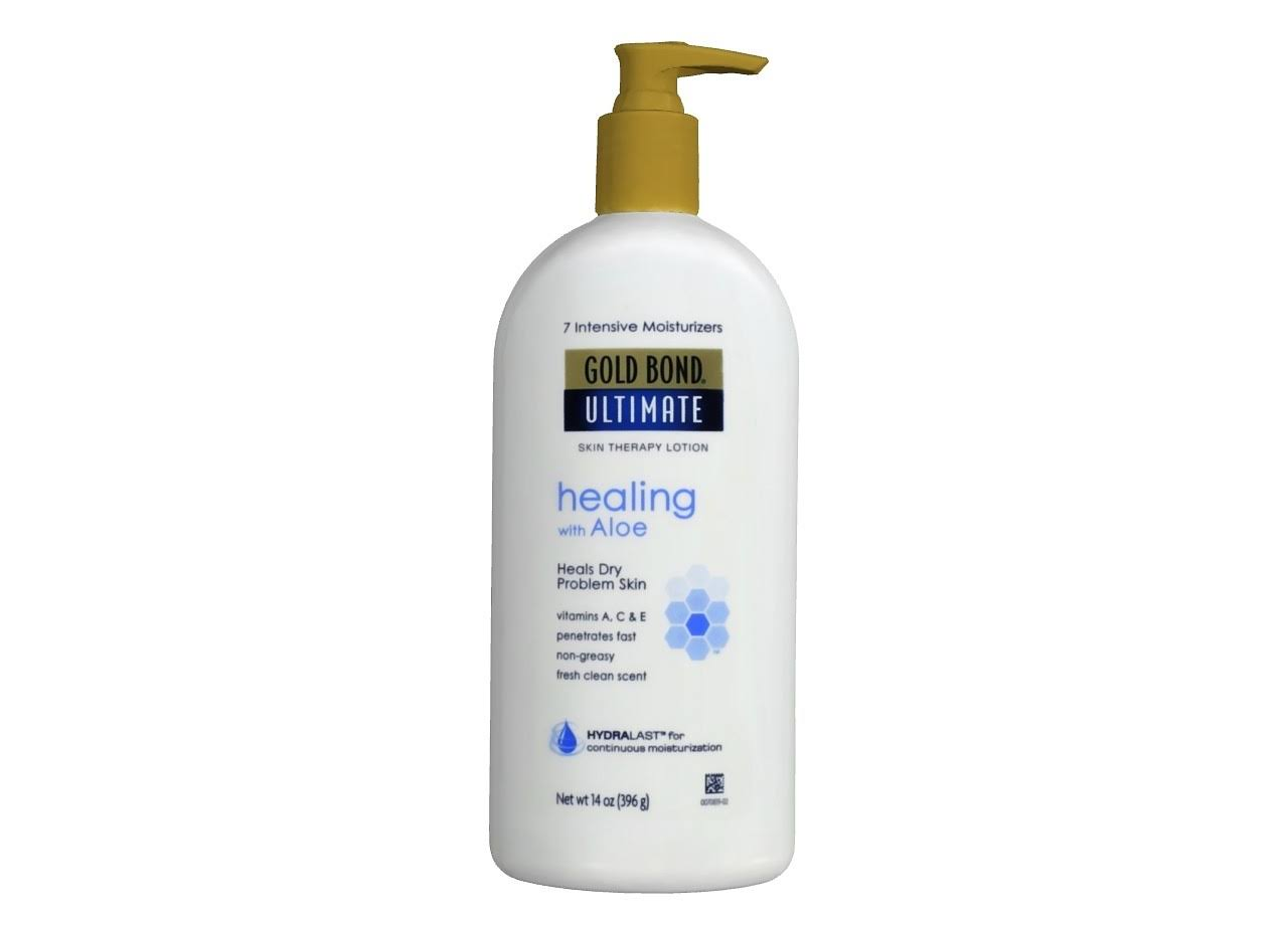 Gold Bond Ultimate Healing Skin Therapy Lotion - Aloe, 14oz