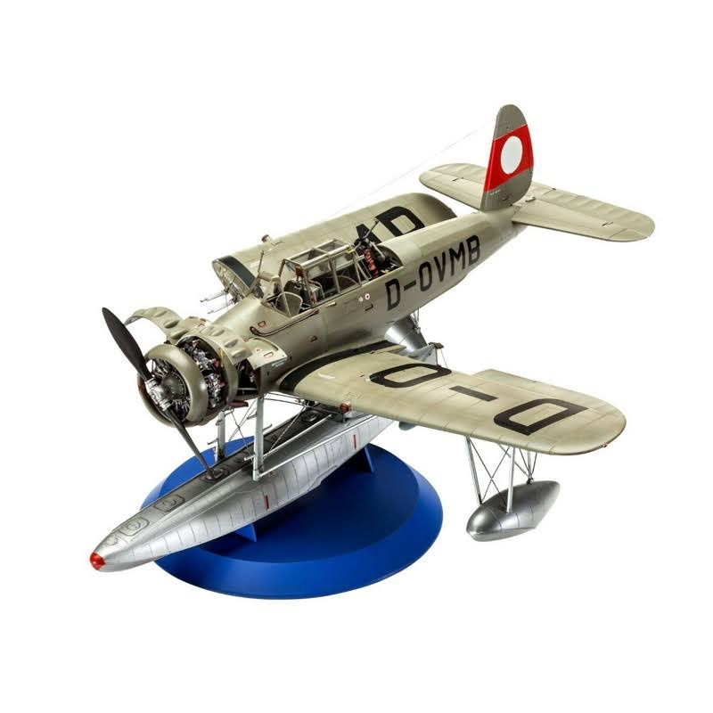 Revell Arado Ar196B Aircraft Scale Model Kit