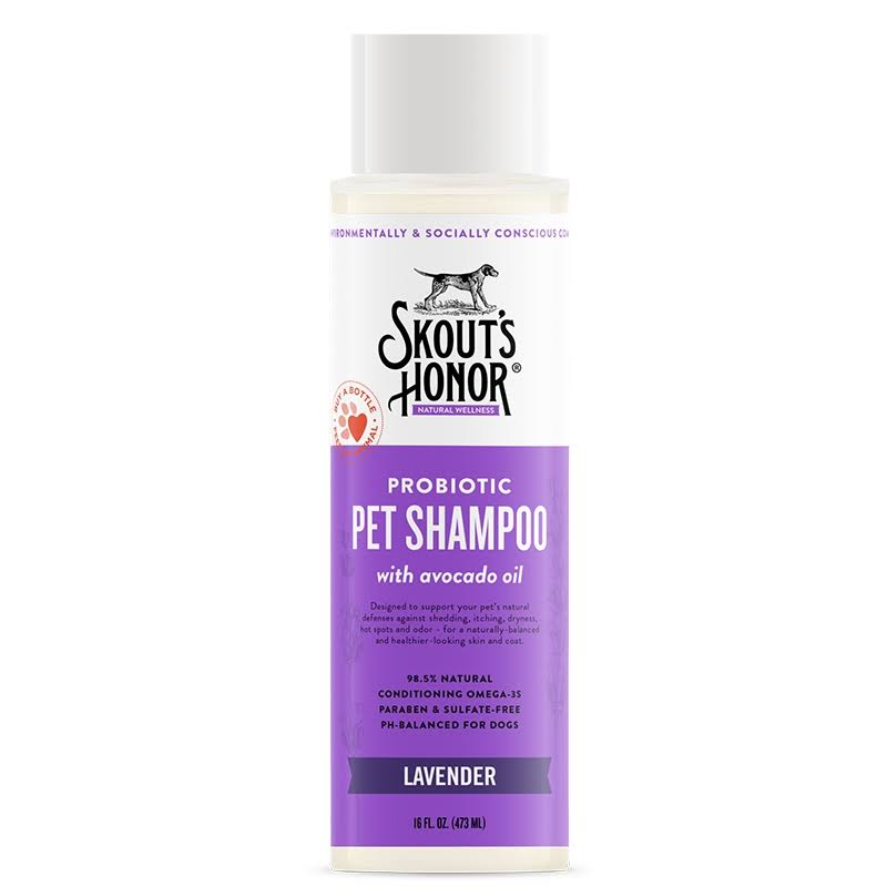 Skout's Honor Probiotic Lavender Shampoo 16oz
