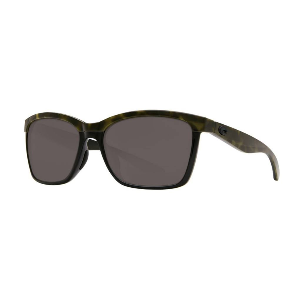 Costa Del Mar Anaa 109 Sunglasses - Grey, Shiny Olive and Tort Black