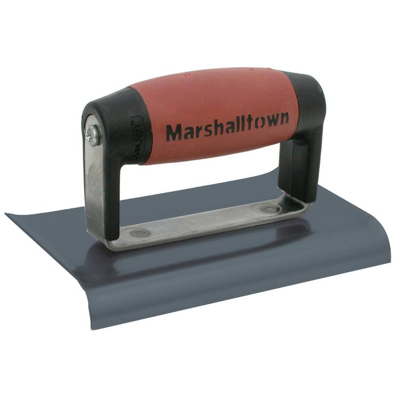 "Marshalltown 121BD Concrete Curved Ends Edger - 6"" x 3"""
