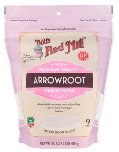 Bobs Red Mill Starch/Flour, Arrowroot - 16 oz
