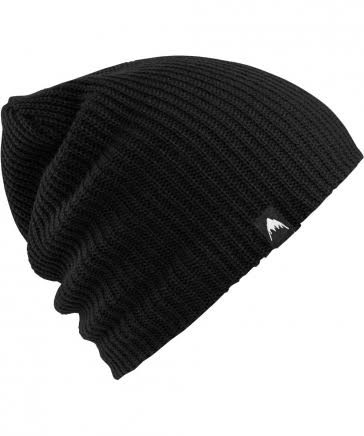 Burton Men's All Day Long Beanie - True Black, One Size