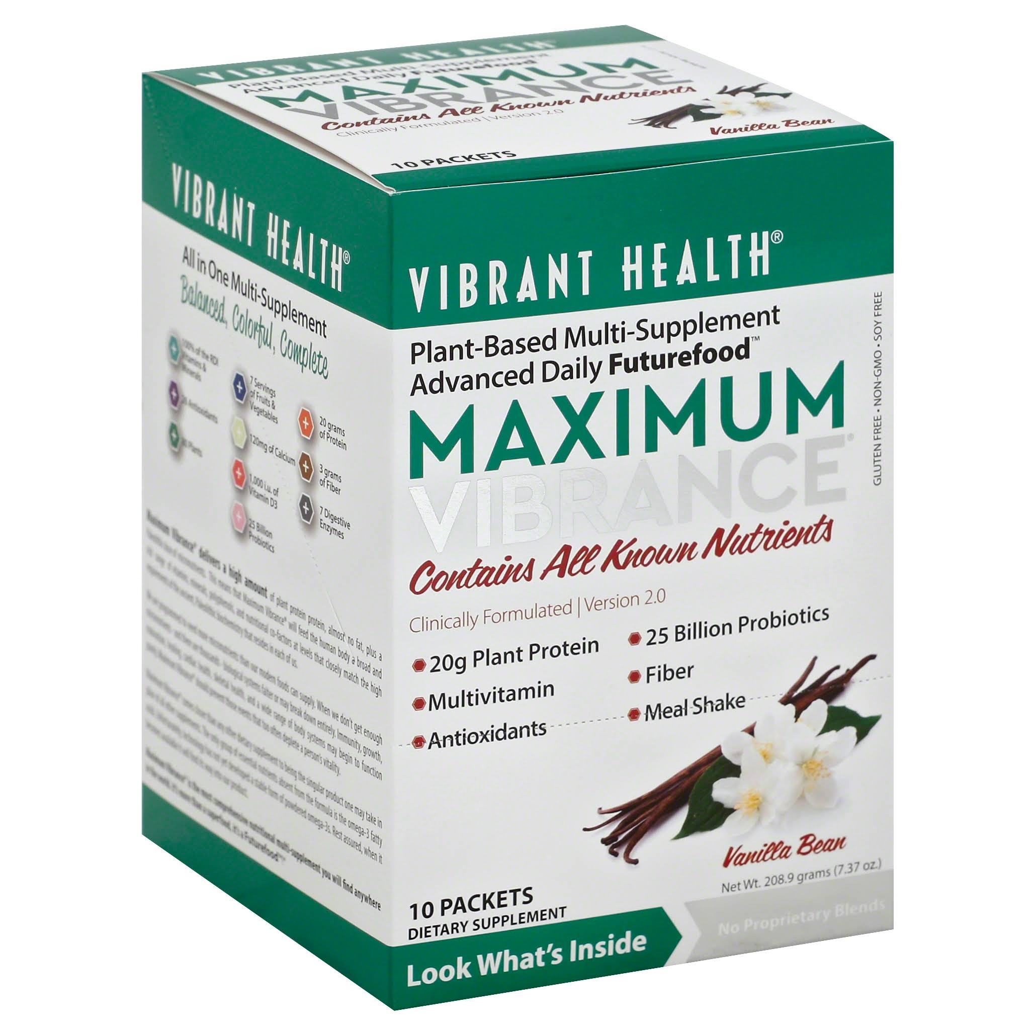 Vibrant Health Maximum Vibrance - 10 Packets