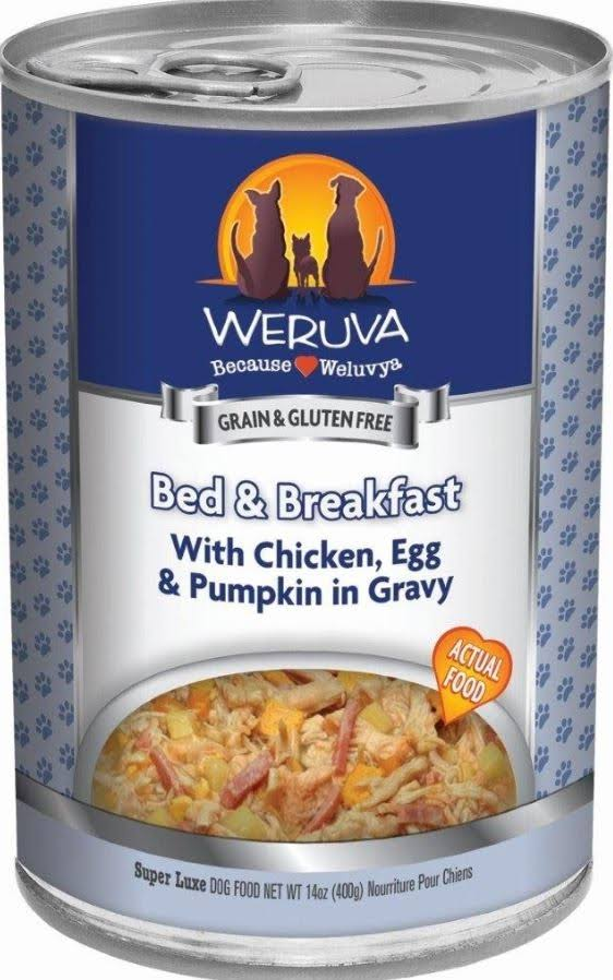 Weruva Bed & Breakfast Canned Dog Food - 5.5 oz, Case of 24