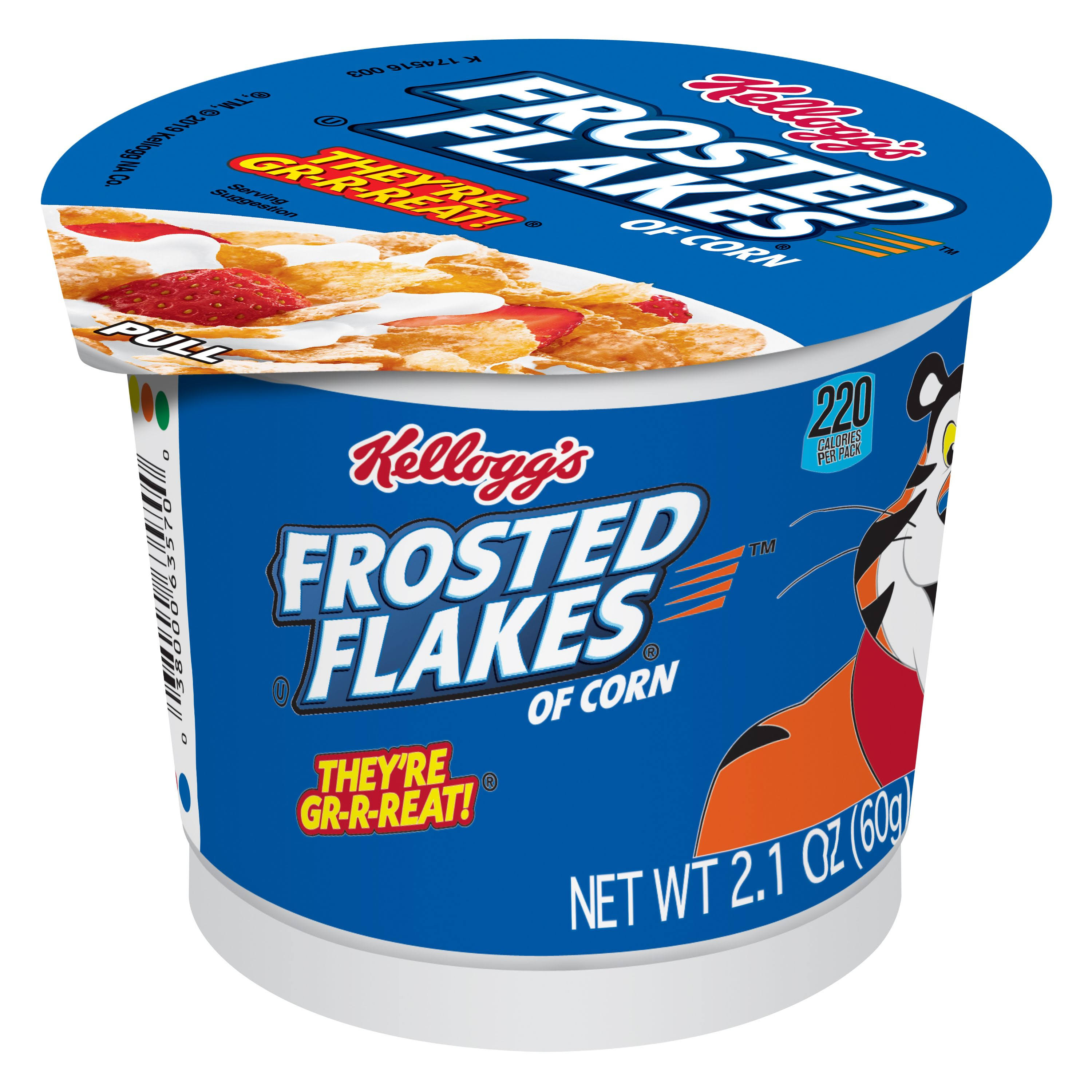 Kellogg's Frosted Flakes of Corn Cereal - 2.1 oz