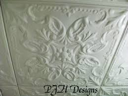 Tin Ceiling Tiles Home Depot by Pjh Designs Hand Painted Antique Furniture Diy Tin Ceiling Tiles