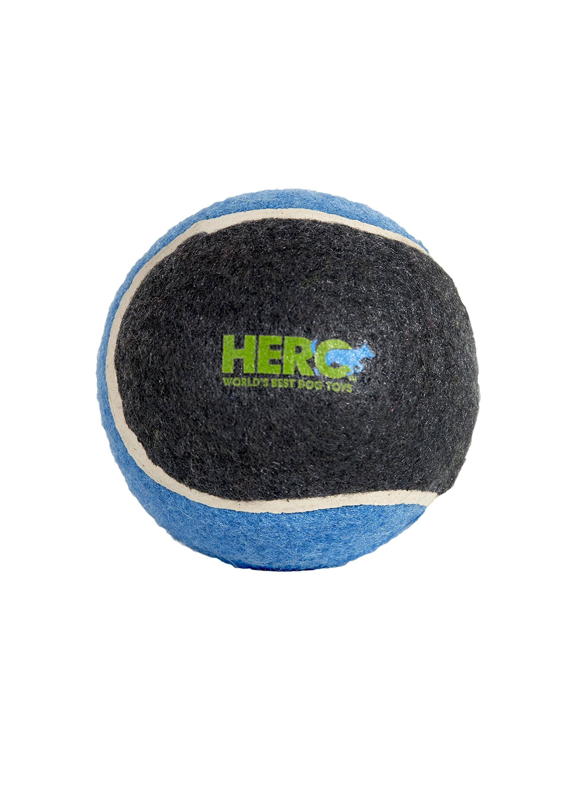 Hero Signature Series Natural Rubber Tennis Ball Dog Toy - Large