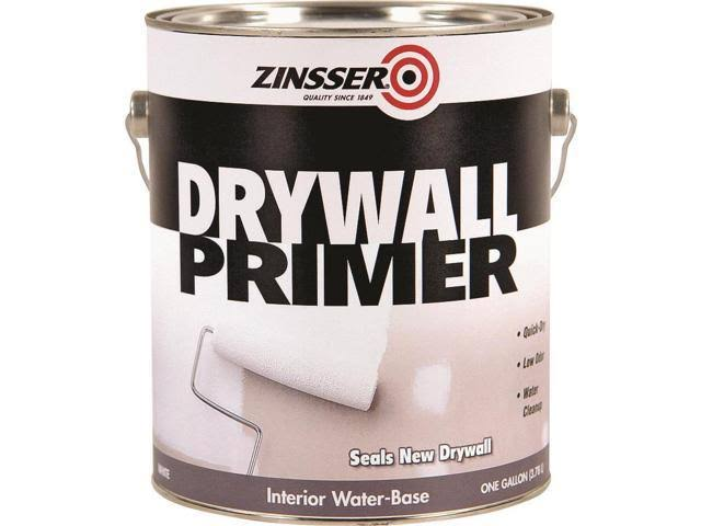 Zinsser Water Based Drywall Primer - White, 1 Gallon