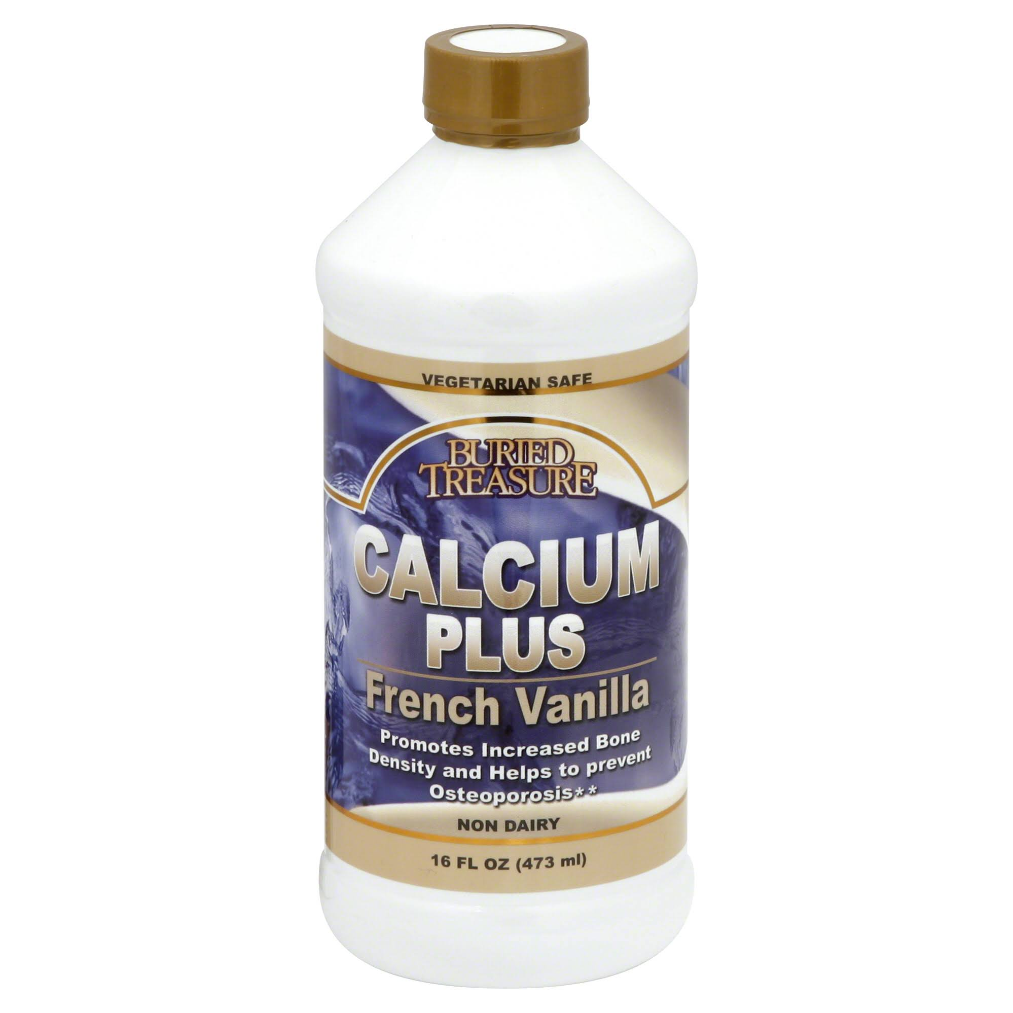 Buried Treasure Calcium Plus - French Vanilla, 473ml