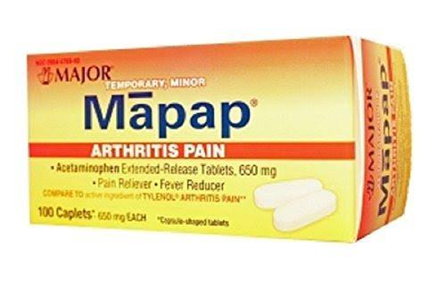 Major Mapap Arthritis Pain - 100ct