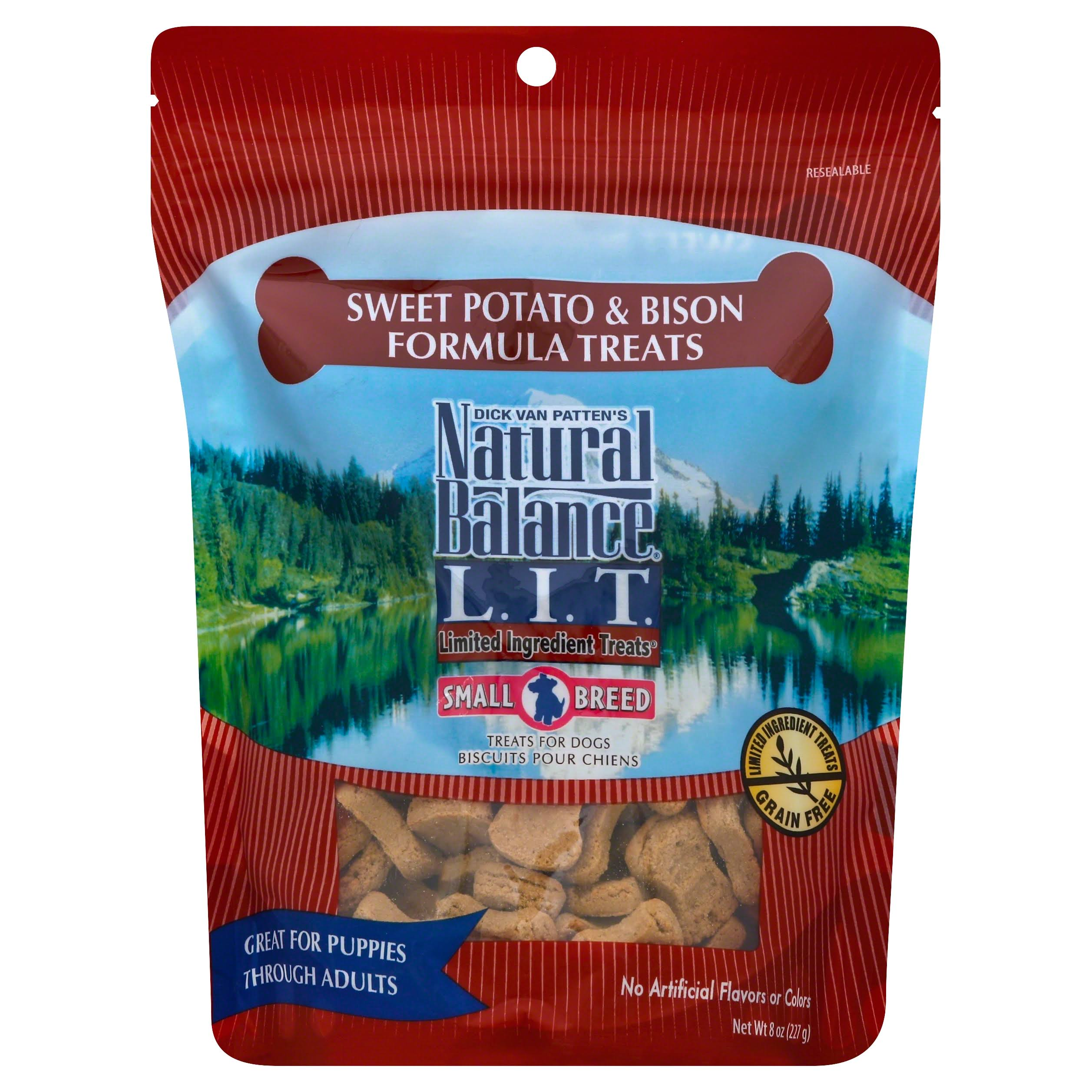 Natural Balance L.I.T. Biscuit Dog Treats - Sweet Potato & Bison