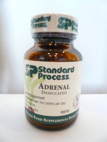 Standard Process Adrenal (Desiccated) 90 Tablets
