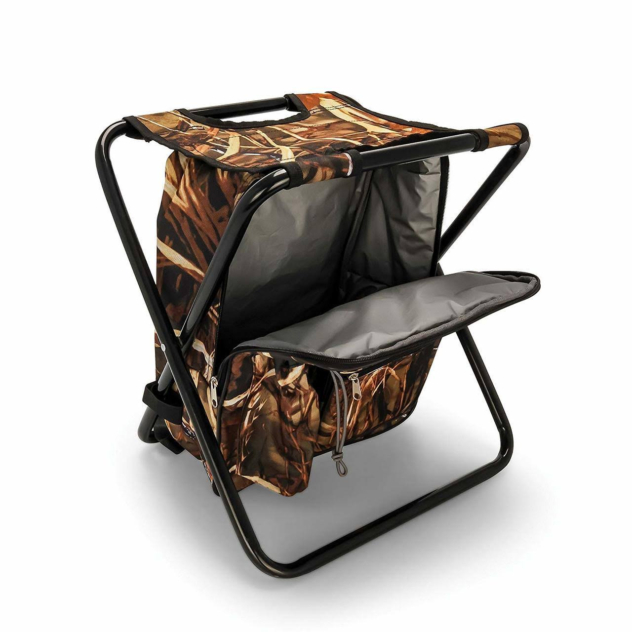 Camco 51908 Camping Stool Backpack, Cooler