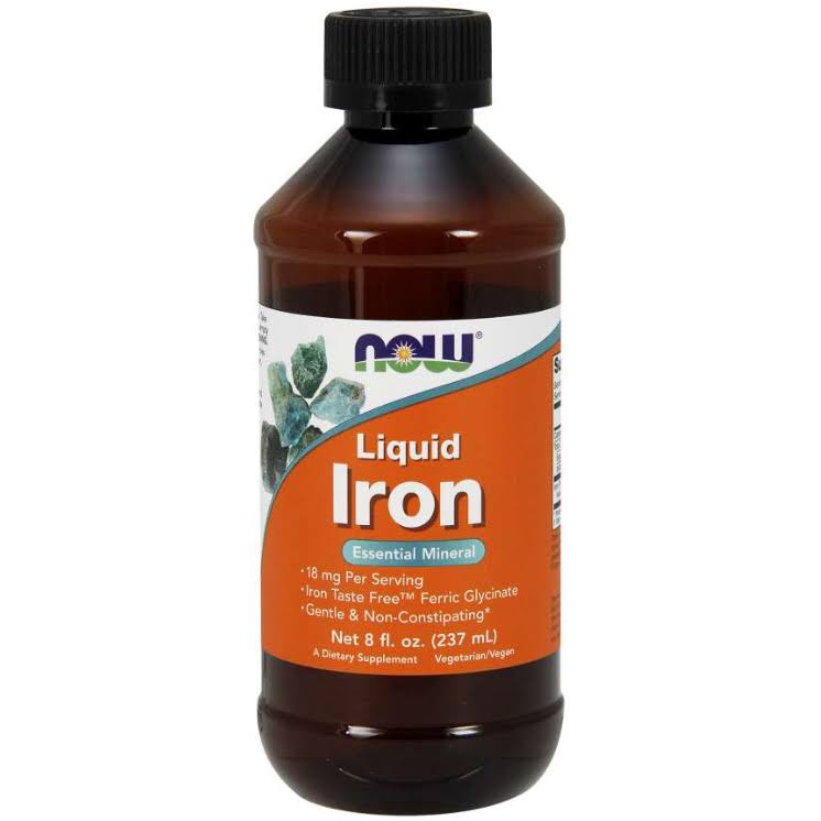 Now Foods Iron Liquid