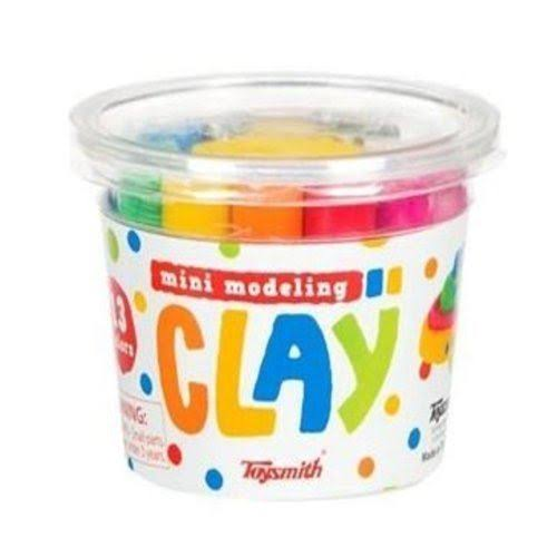 Toysmith Mini Modelling Clay - Multi-Coloured