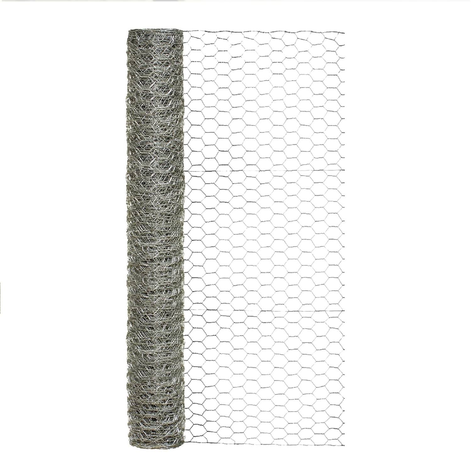 Garden Zone Galvanized Hex Netting