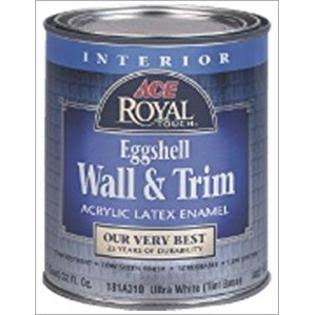 Ace Royal Interior Latex Eggshell Wall and Trim Paint - 1 Quart