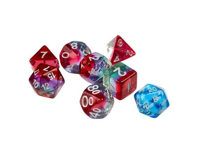 Sirius Dice Watermelon Rpg Polyhedral Dice Set