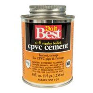 William H Harvey 018714 Do It Best CPVC Cement - 8oz
