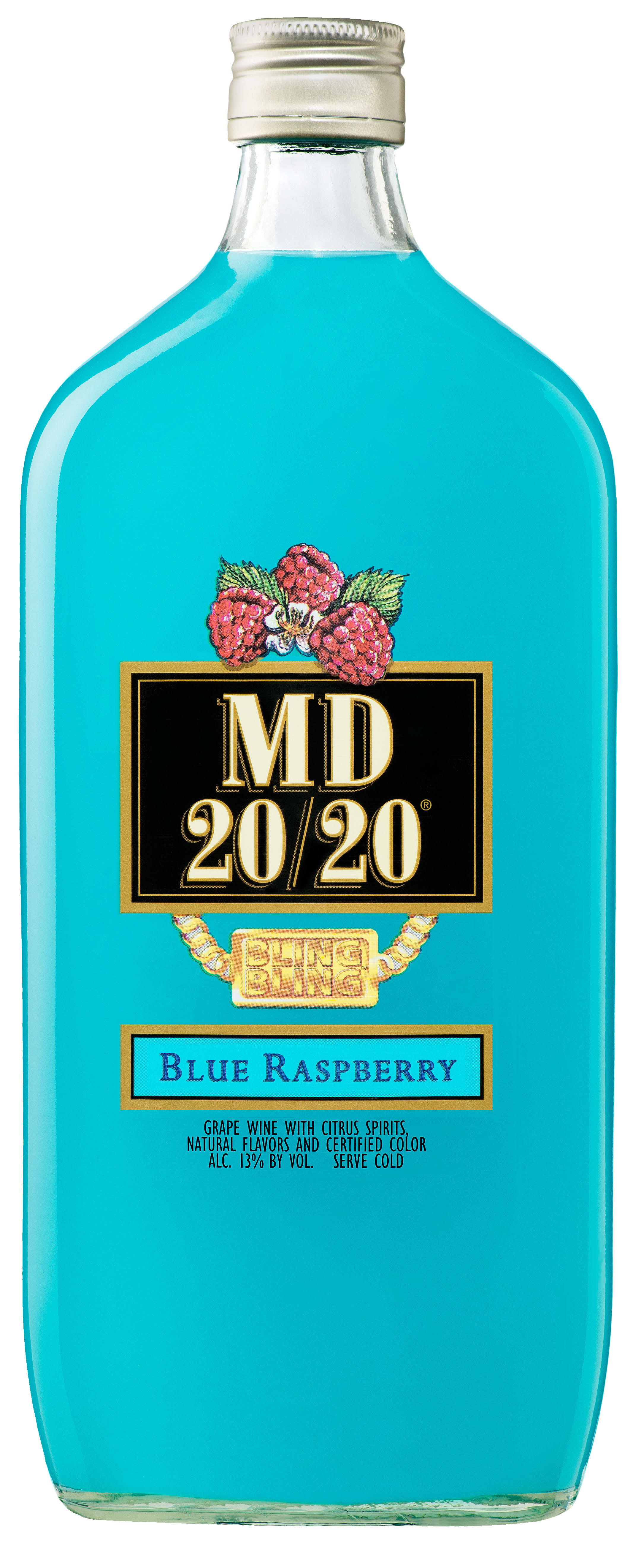 MD 20/20 Blue Raspberry Flavored Wine - 750ml