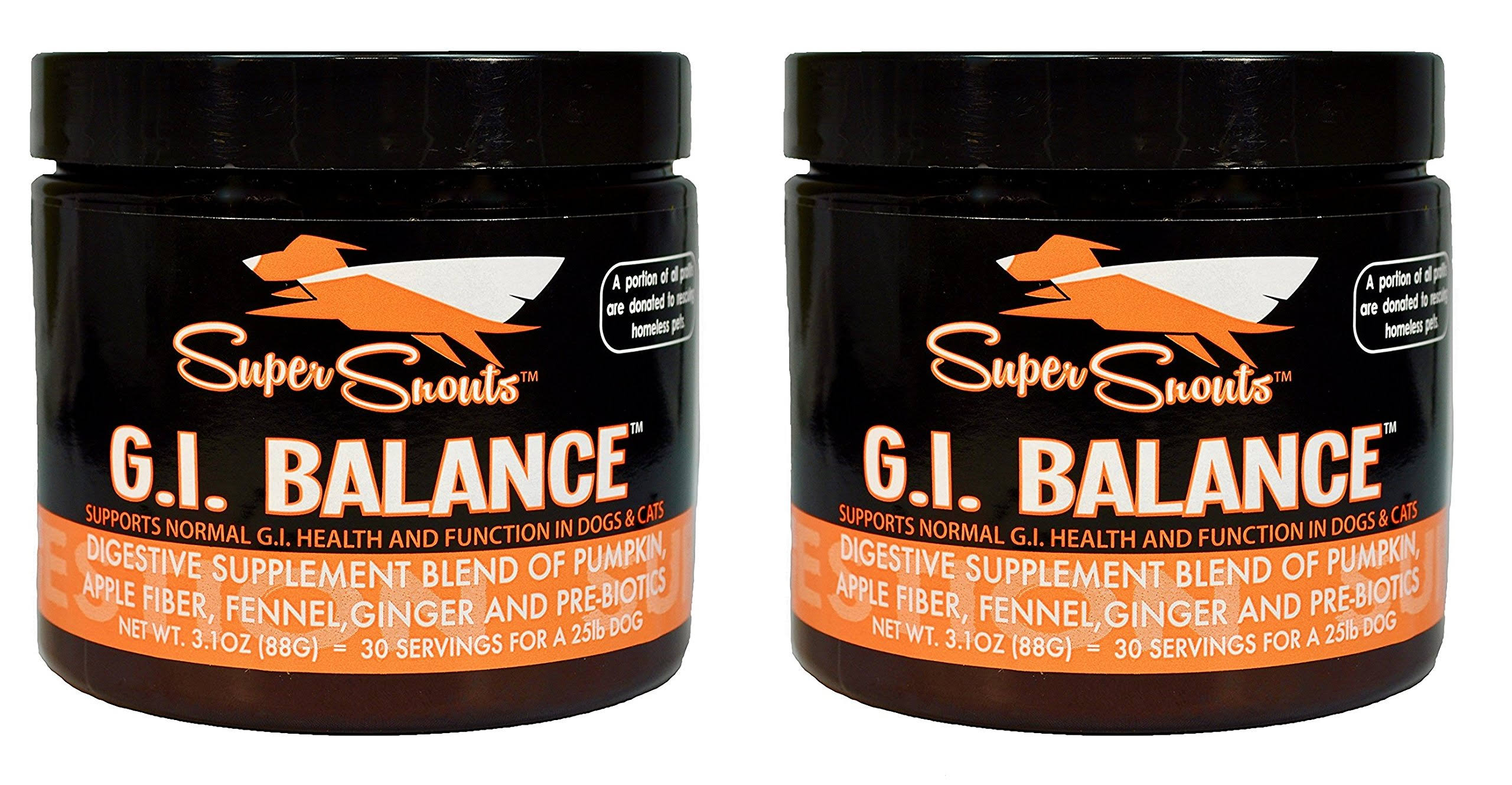 G.I. Balance Digestive Blend Supplement for Dogs and Cats - 88g