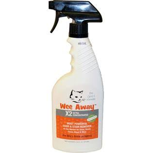 Wee Away - X2 Ultra Concentrated Cat Stain & Odor Remover - 16oz