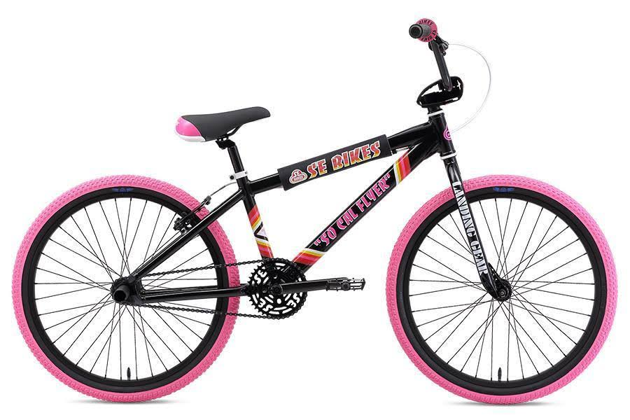 "SE Bikes So Cal Flyer 24"" BMX Bike Black 2019"