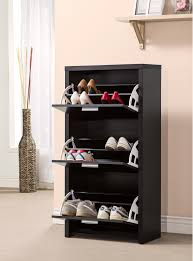 Baxton Shoe Storage Cabinet by Modern Shoe Rack 20 Shoe Storage Cabinets That Are Both