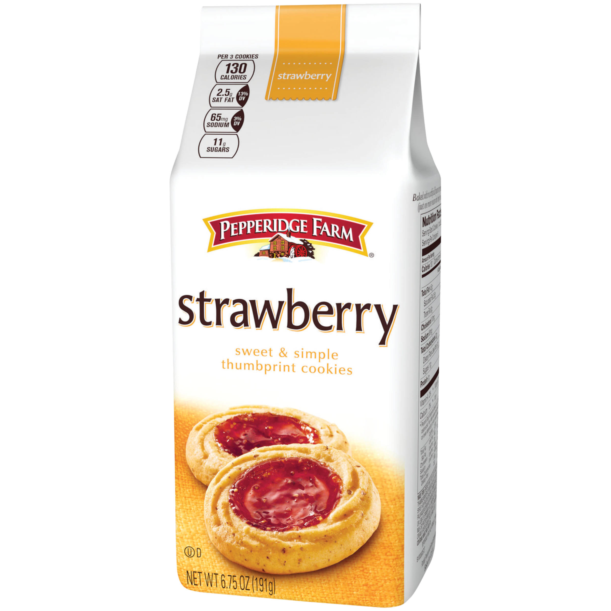 Pepperidge Farm Strawberry Cookies - 6.75oz