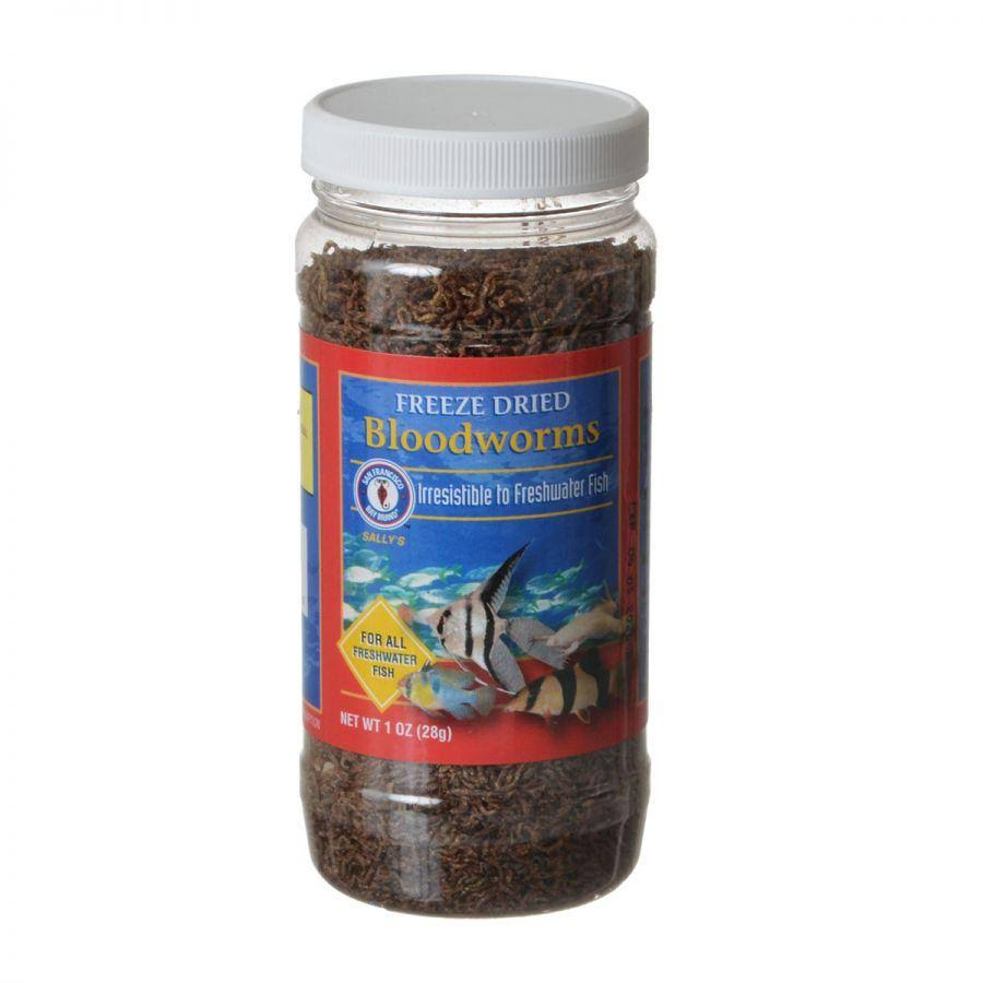 San Francisco Bay Freeze Dried Bloodworms Fish Food - 28g