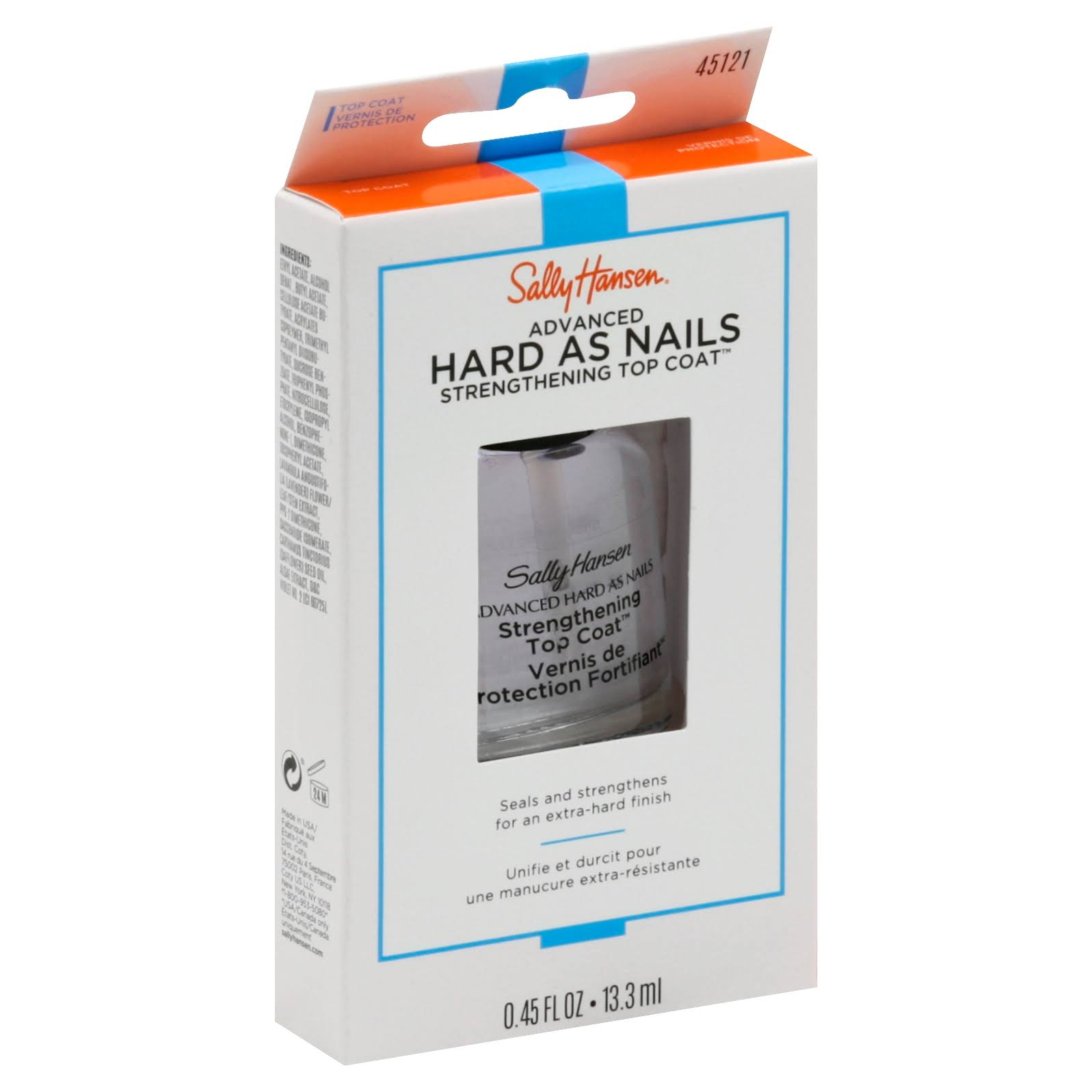 Sally Hansen Hard as Nails Strengthening Top Coat