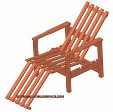adjustable wooden chair plan