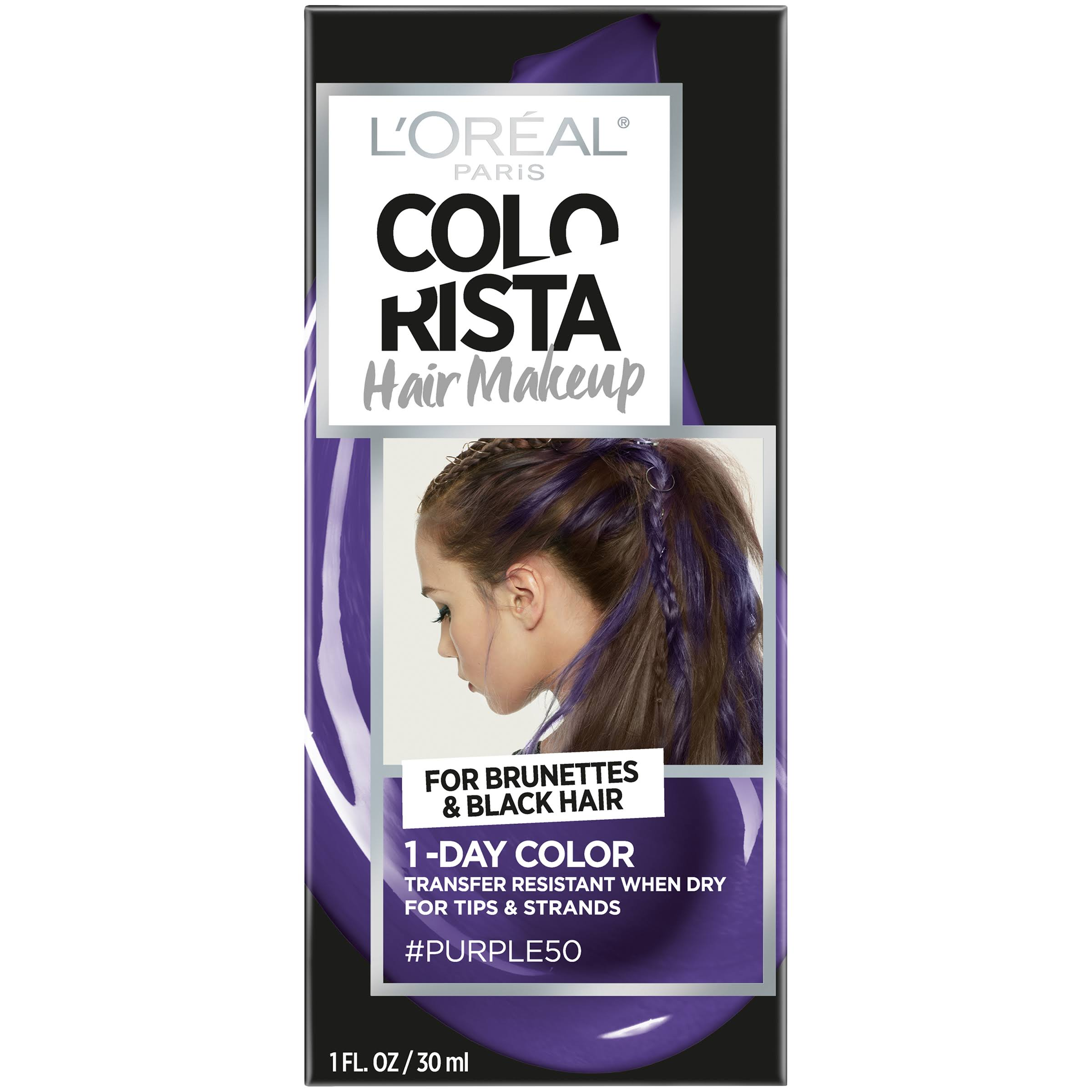 Loreal Paris Hair Color - Purple, 1oz