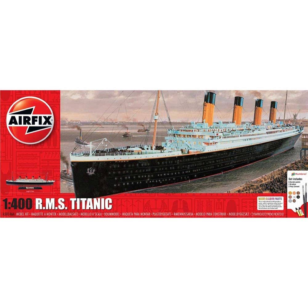 Airfix A50146A 1:400 RMS Titanic Gift Set Model Kit