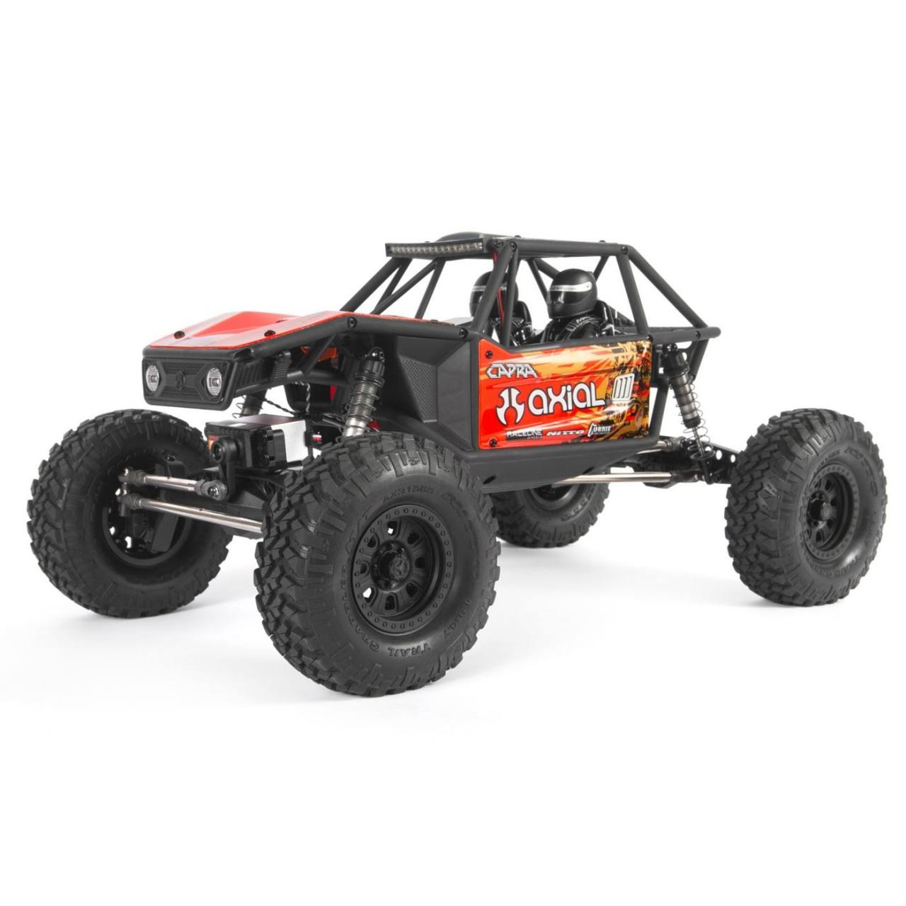 Axial Capra 1.9 Unlimited 4WD RTR Trail Buggy - Red