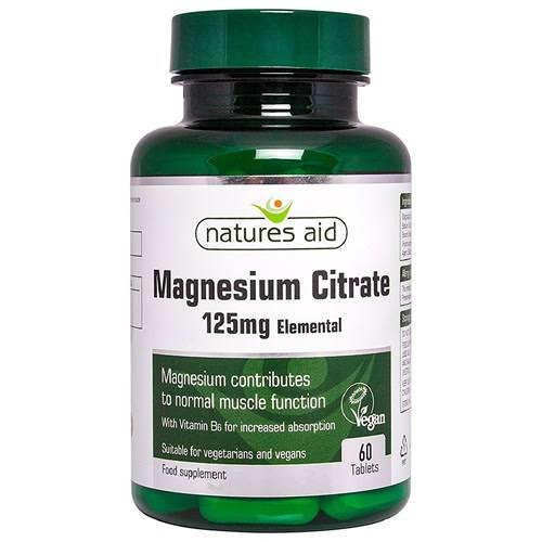 Natures Aid Magnesium Citrate - 125mg