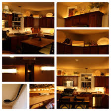 Above Kitchen Cabinet Decorations Pictures by Adding Lights Above And Below The Cabinets Diy Christmas Lights
