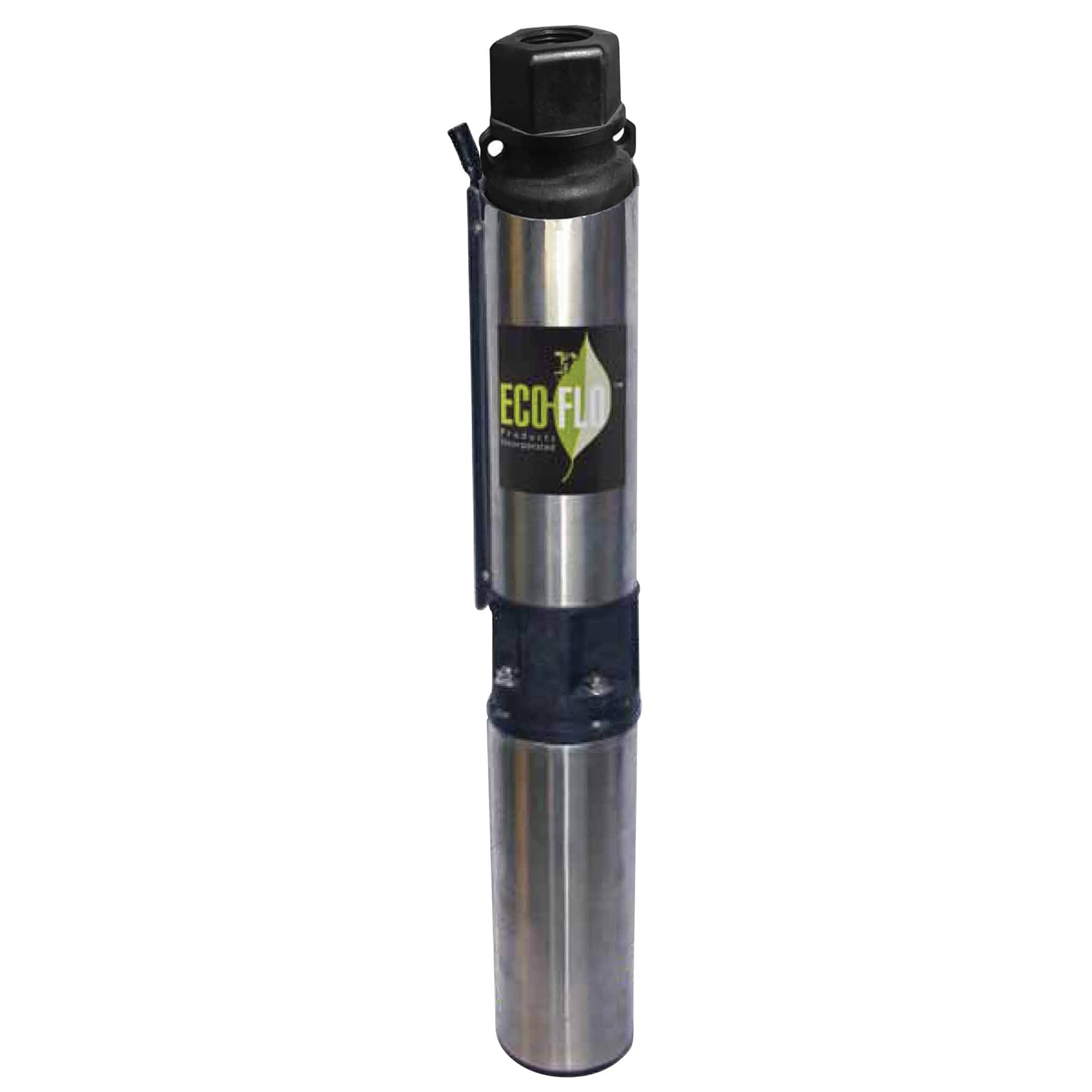 Eco Flo Submersible Well Pump - Stainless Steel, 3/4 hp
