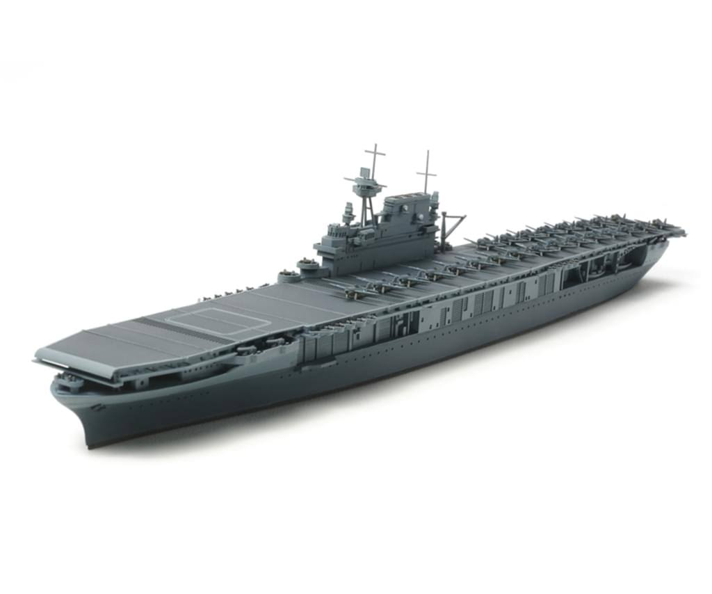 Tamiya 31712 Us Aircraft Carrier Yorktown Model Kit - 1/700 Scale