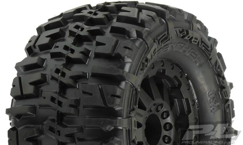 Pro Line Trencher All Terrain Tires Mounted - 1/10 scale, 2.8""