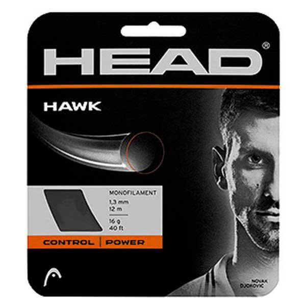 Head Hawk Tennis String Set - 16 Gauge, Grey