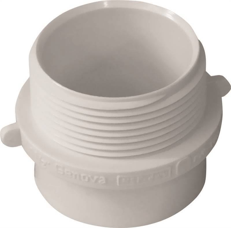"Genova Products 72415 Male Pipe Thread Fitting Adapter - 1 1/2"" x 1 1/2"""