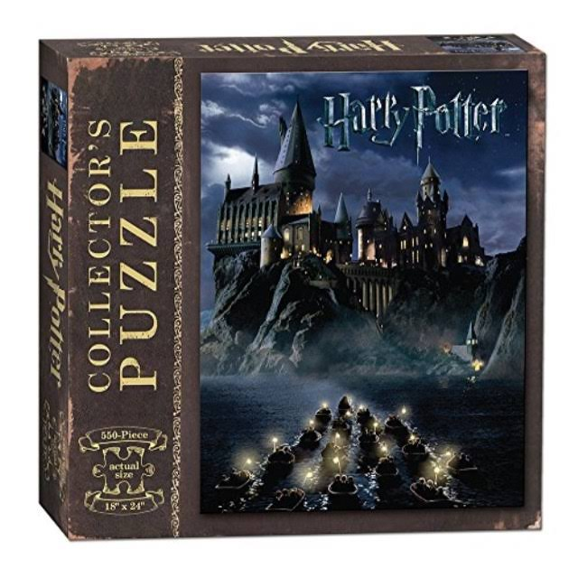 Usapoly World Of Harry Potter Collector's Puzzle - 550 Pieces