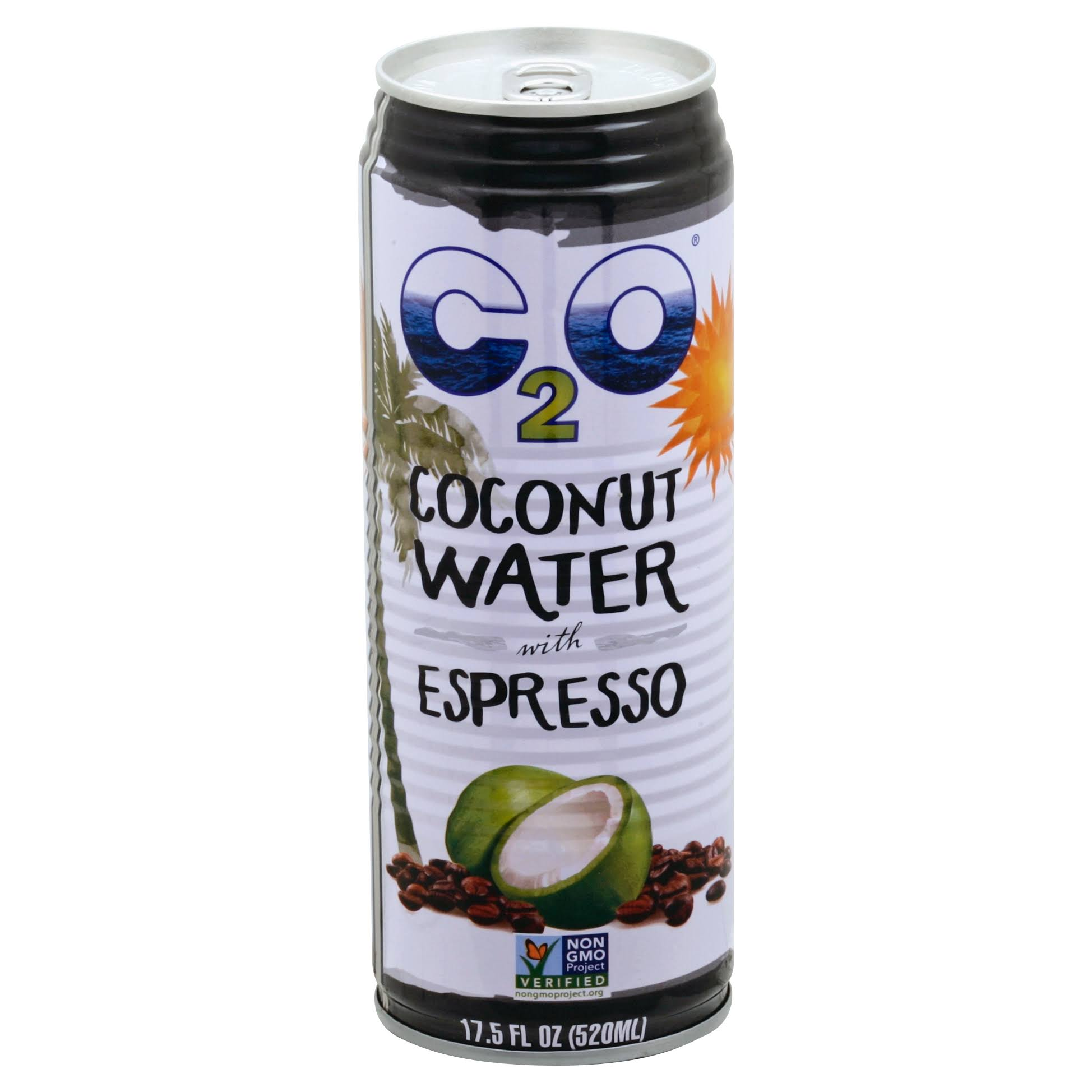 C2O Coconut Water, with Espresso - 17.5 fl oz