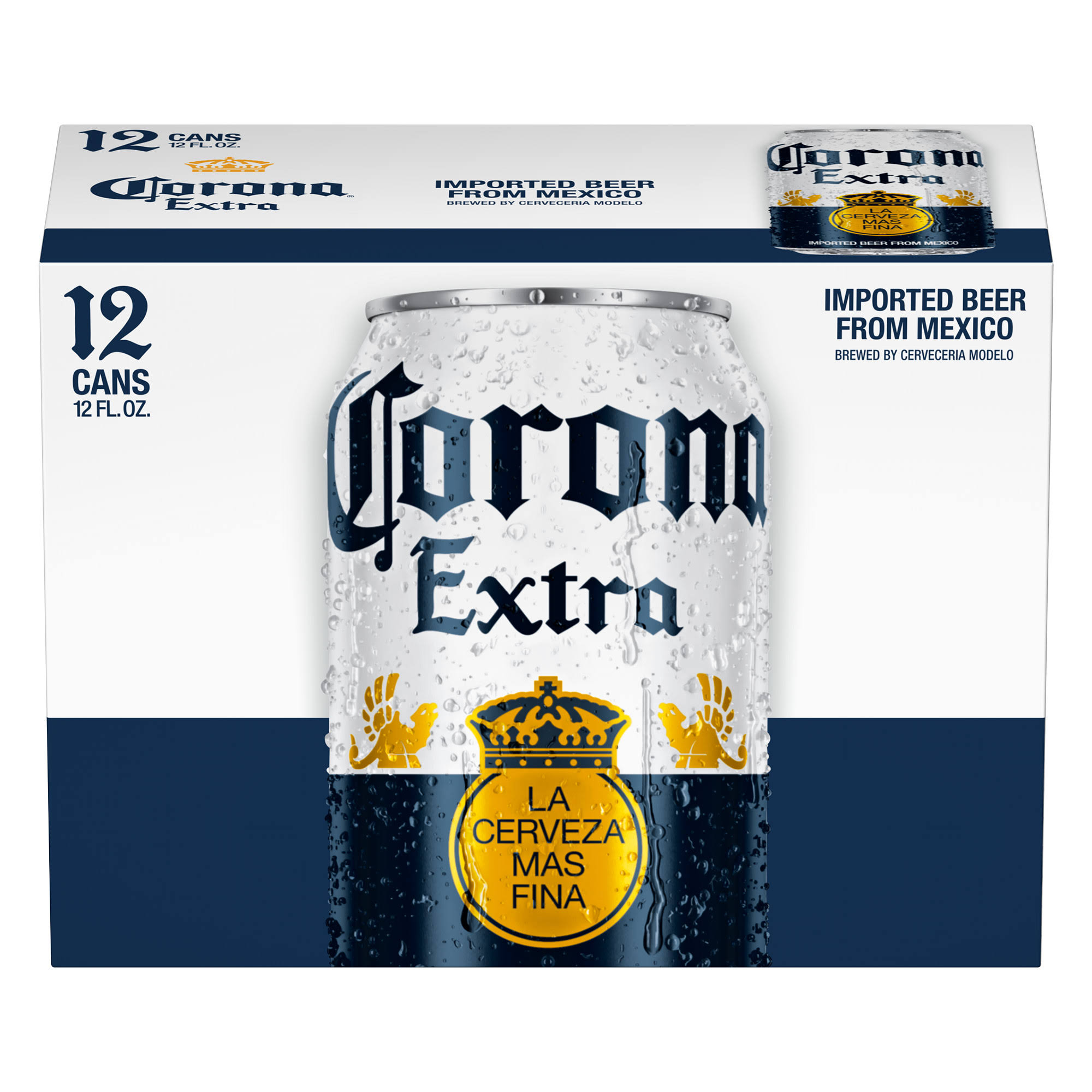 Corona Extra Beer - 12oz, Pack of 12