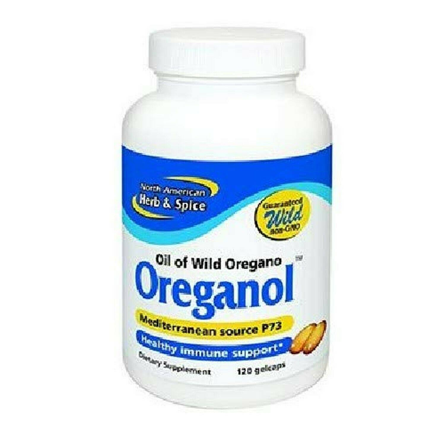 North American Herb and Spice Oreganol P73 Supplement - 120ct