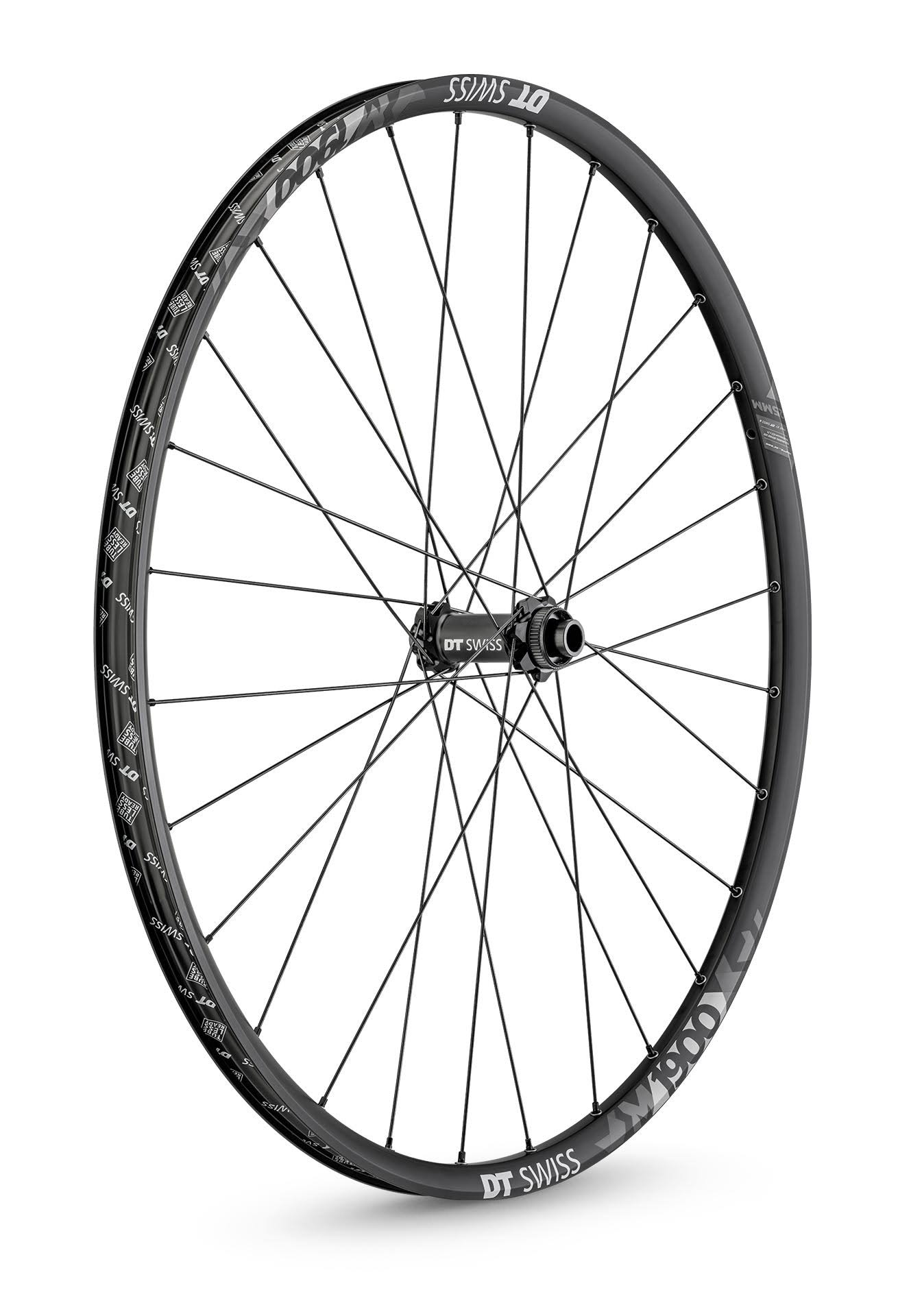 "DT Swiss M1900 Spline 25 29"" Front Wheel-15x110mm Disc"